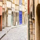 La Rue Saint-Jean dans le Vieux Lyon