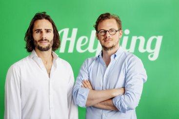 Les Fondateurs d'Helpling Benedikt Franke et Philip Huffmann